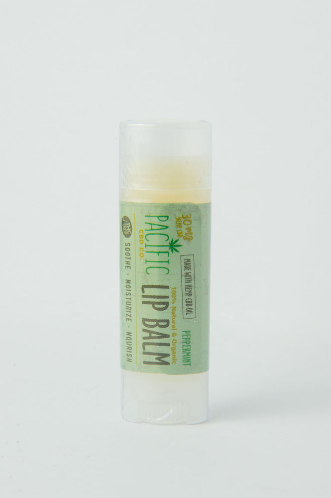 PACIFIC CBD CO - Peppermint Hemp CBD Lip Balm