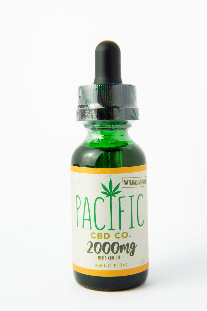 PACIFIC CBD CO 2000MG CBD Oil Drops