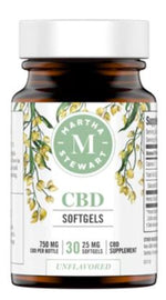 Martha Stewart CBD Softgel 750mg