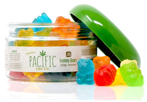 PACIFIC CBD CO - 250MG CBD GUMMY BEARS