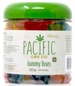 Pacific CBD  CO Gummy Bears 500mg