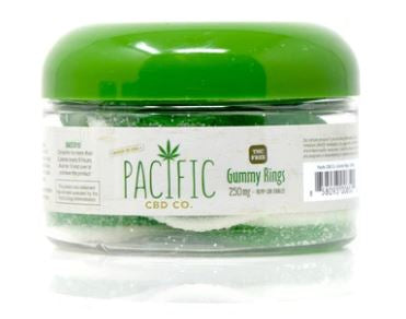 PACIFIC CBD CO - 250MG CBD GUMMY RINGS
