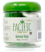 Pacific CBD CO - Gummy Apple Rings 500mg