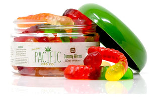 PACIFIC CBD CO - 250MG CBD GUMMY WORMS
