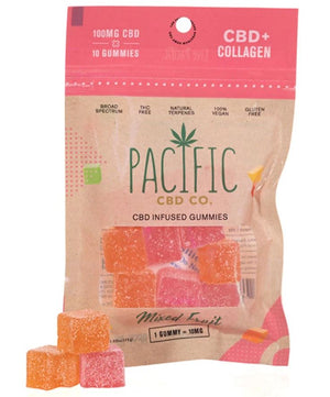 PACIFIC CBD CO - CBD + COLLAGEN GUMMIES