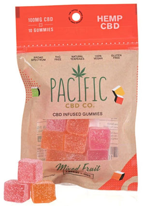 PACIFIC CBD CO - HEMP CBD GUMMIES