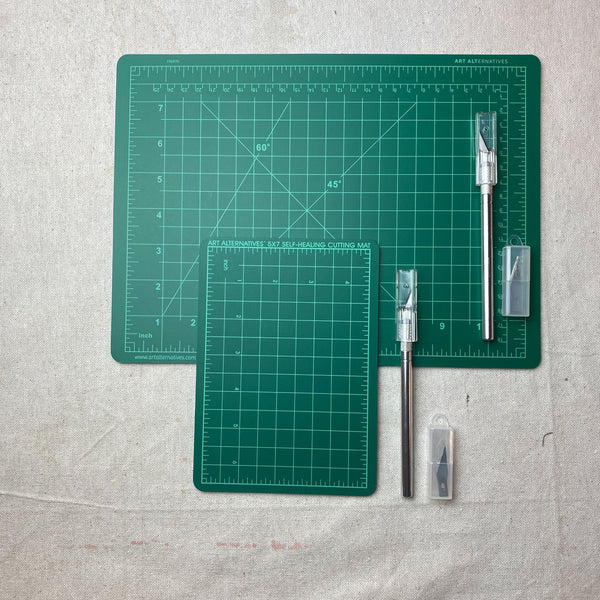 Cutting Mat & Knife