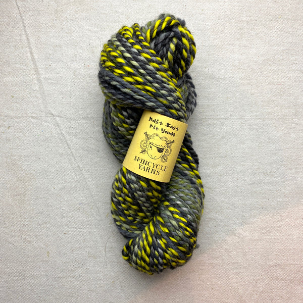 Spincycle Knit Fast Die Young - Yellow