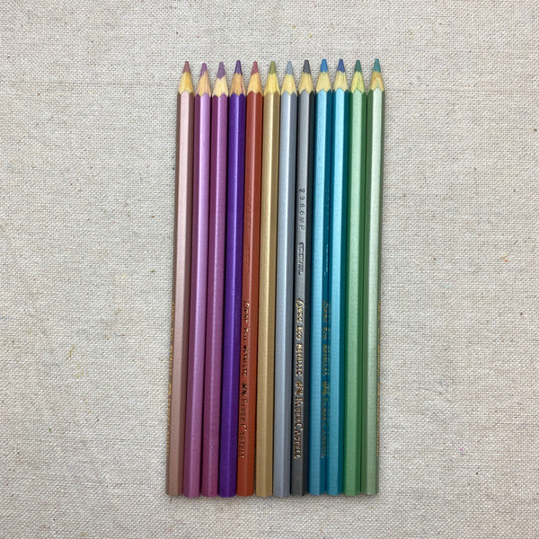 Metallic Colored EcoPencils Set of 12