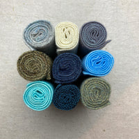 Felted Wool - Blues, Greys and More Set