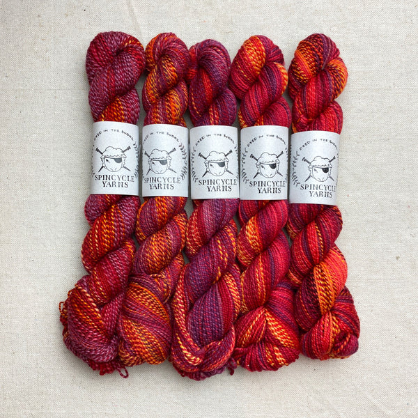 Spincycle Dyed in the Wool - Devilish Grin (June)