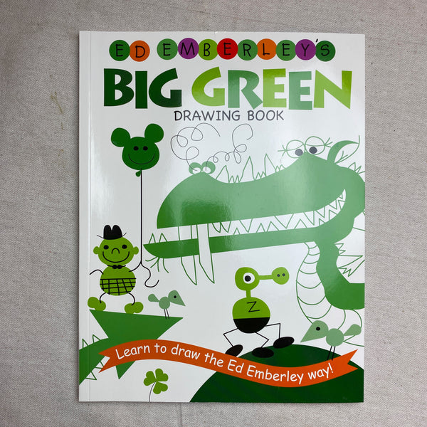 Big Green Drawing Book