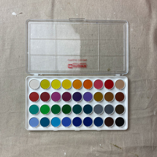 Set of 36 Watercolors