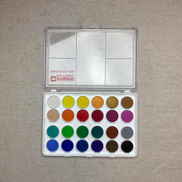 Set of 24 Watercolors