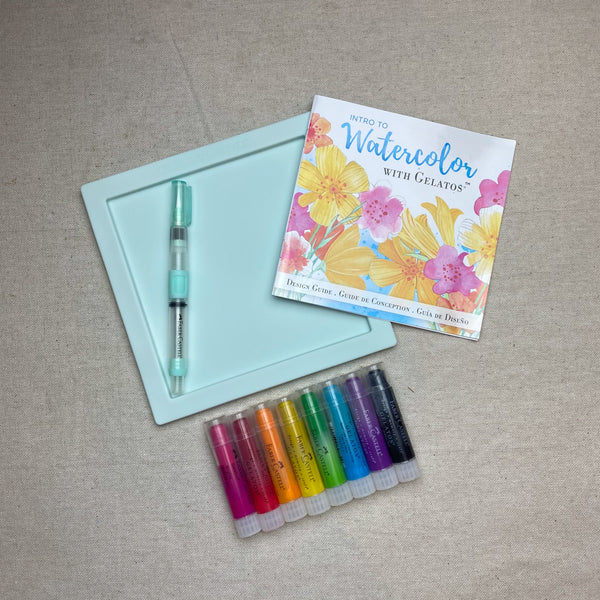 Intro to Watercolor with Gelatos Kit