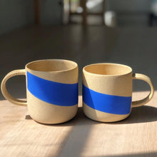Load image into Gallery viewer, Blue Wave Mug - June Pre-Order