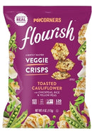 Flourish Veggie Crisps Toasted Cauliflower - 4 Oz. individual Bag