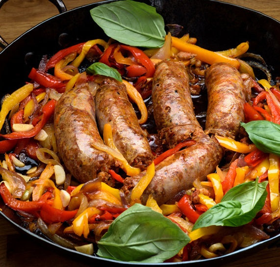 Sunday, June 28th Turkey Sausage with Penne and Grilled Vegetables