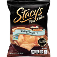Chips, Stacey's Pita Plain 1.5oz bag (case of 24)