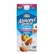 Almond Milk, Vanilla Unswntd Carton Refrigerated (.5G individual)