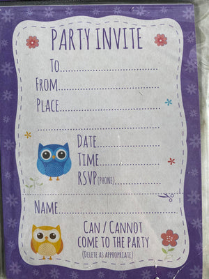 Party Invitations (12ct)