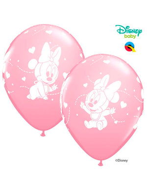 Disney Baby Minnie Mouse Latex Balloons (6pk)