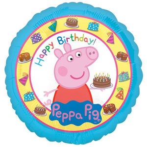 "Peppa Pig 18"" Happy Birthday Foil Balloon"