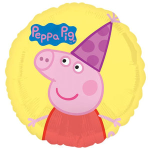 "Peppa Pig 18"" Yellow Foil Balloon"