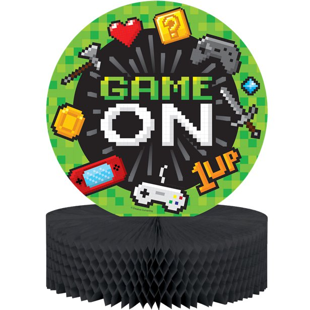 Game On Honeycomb Centrepiece