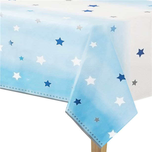 One Little Star Boy Plastic Tablecover All Over Print