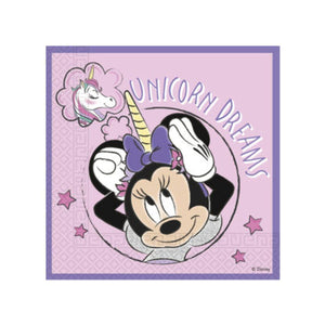 Minnie Unicorn Dreams Napkins