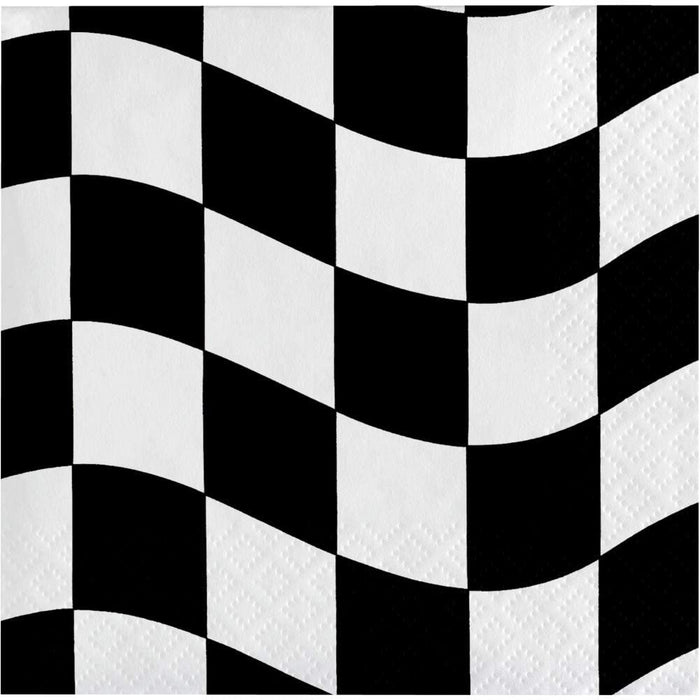 Racing Stripes Lunch Napkins (16pk)