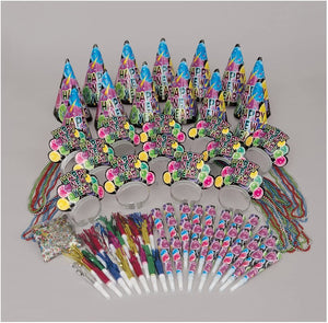 New Years Eve Party Kit for 25 - Multi Colour
