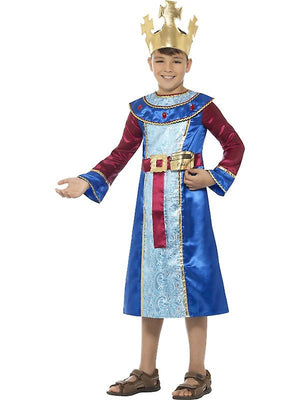King Melchior Costume, Blue
