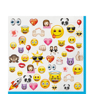 Emoji Luncheon Napkin, 16ct