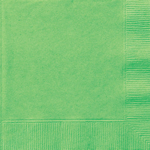 Lime Green Solid Luncheon Napkins, 20ct