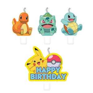 Pokémon Birthday Candles