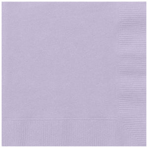 Lavender Solid Luncheon Napkins, 20ct