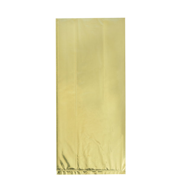Gold Foil Cellophane Bags, 10ct