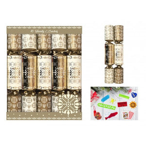 Christmas Crackers (x10) - Gold
