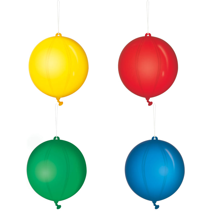 Punch Balloons, 4ct