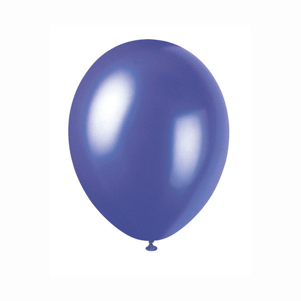 "12"" Latex Balloons, 50ct - Electric Purple"