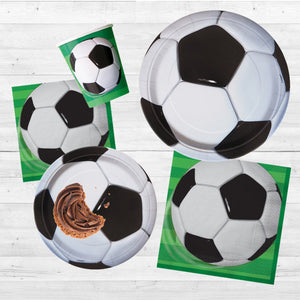 3D Soccer Luncheon Napkins, 16ct