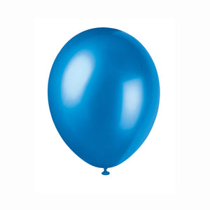 "12"" Latex Balloons, 50ct - Cosmic Blue"