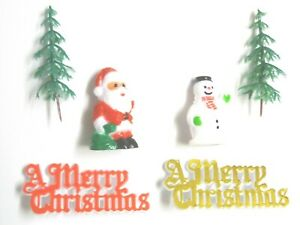 Merry Christmas with Snowman and Tree