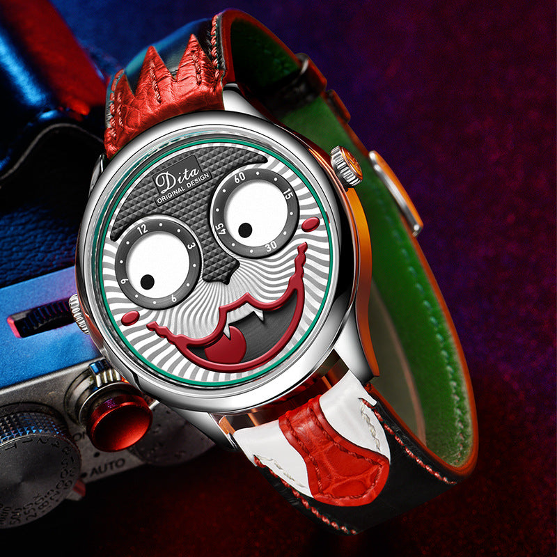 2020 Joker Watch Men Personality Alloy Quartz Limited Edition Designer Watch