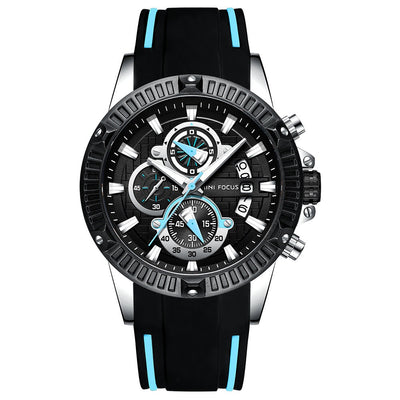 Top Men's Fashion Sport Watches Men Quartz Analog Date Clock