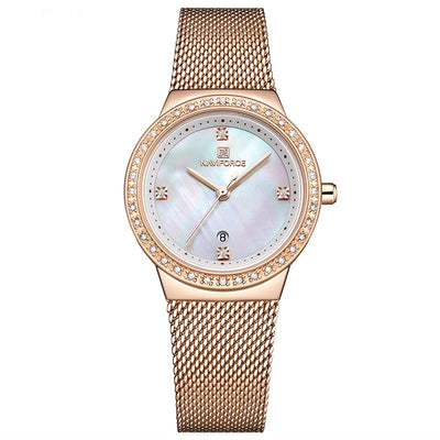 New Women Luxury  Watch Simple Quartz Lady Waterproof Wrist
