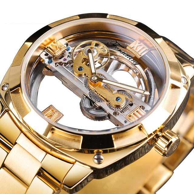 Transparent Design Mechanical Watch