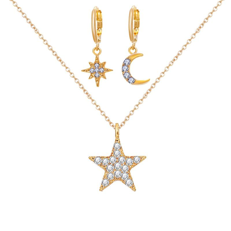 Star Necklace Set